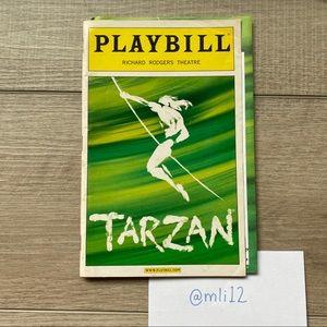PLAYBILL Tarzan on Broadway